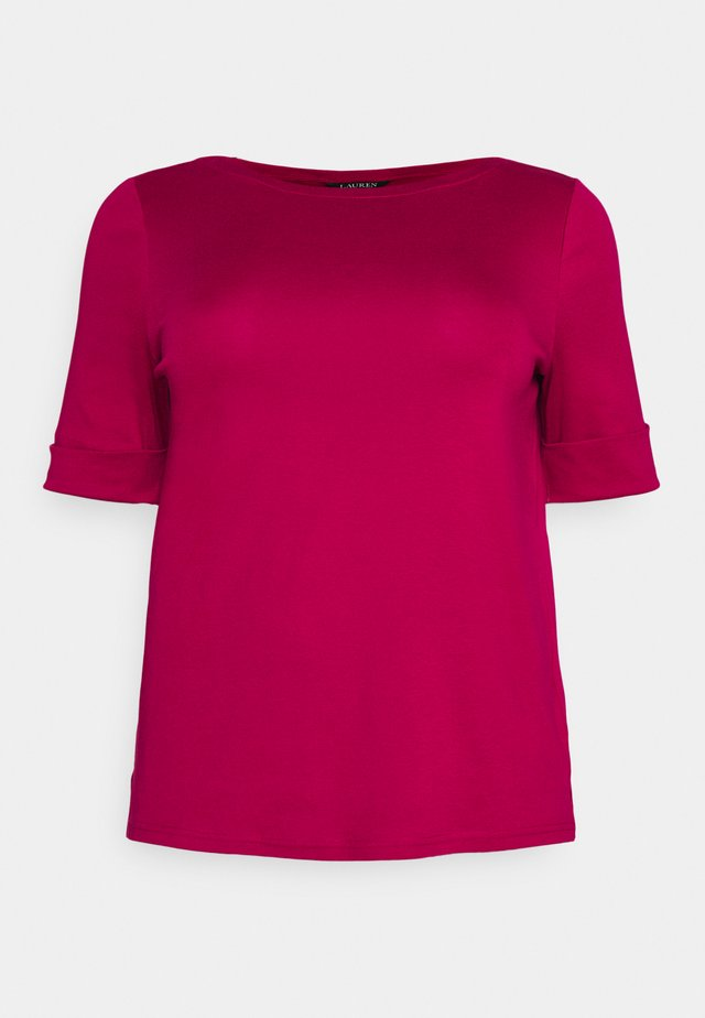 JUDY-ELBOW SLEEVE-KNIT - T-shirt à manches longues - bright fuchsia