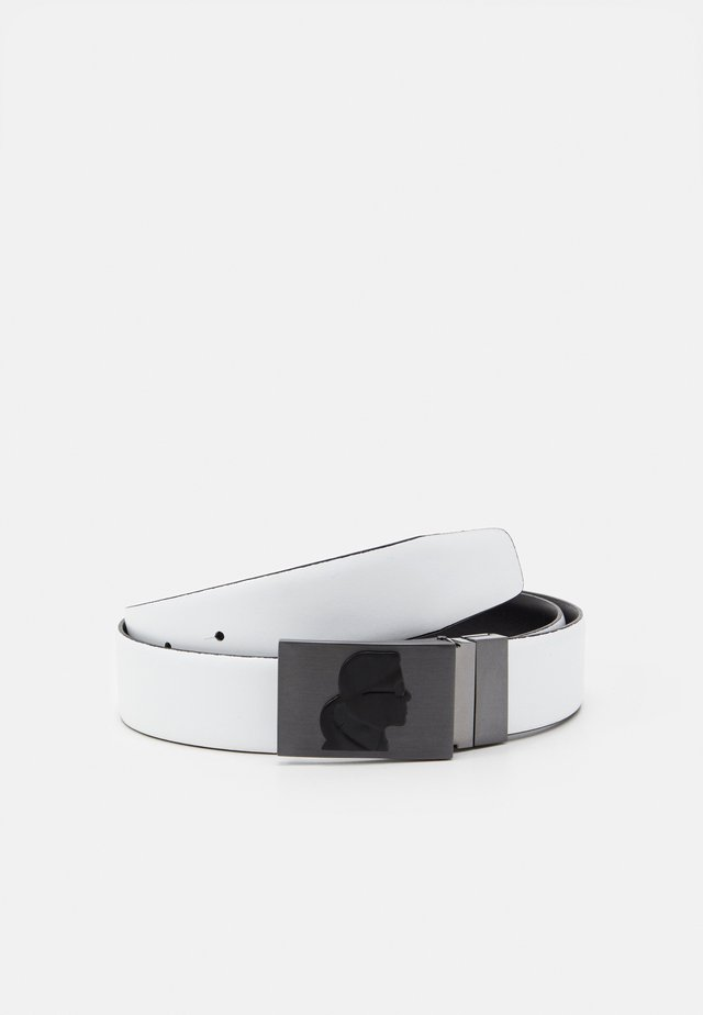 BELT - Cintura - black/white