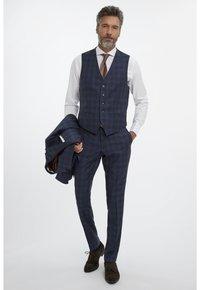 Van Gils - Suit waistcoat - blue - 1