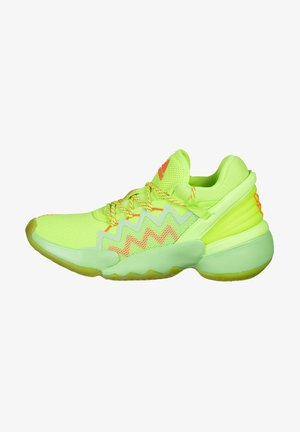D.O.N. ISSUE #2 - Basketball shoes - glory mint / signal green / solar red