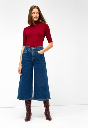 CULOTTE AUS  - Flared Jeans - dirty dark stoned