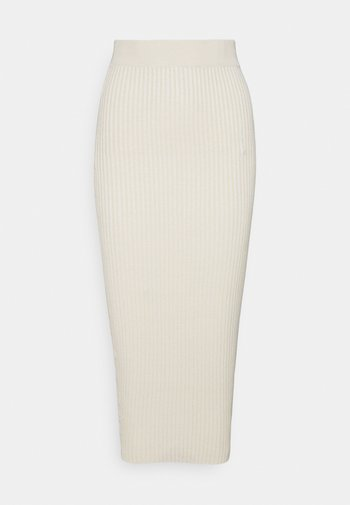 MIDAXI SKIRT - Pencil skirt - stone
