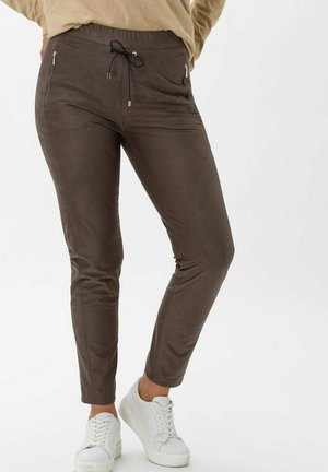 STYLE PEGGY - Tracksuit bottoms - taupe