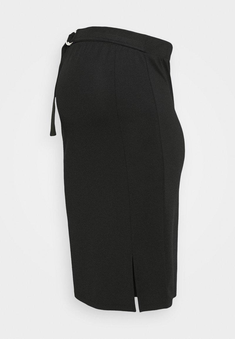 MAMALICIOUS - MLLISANA SKIRT - Pencil skirt - black
