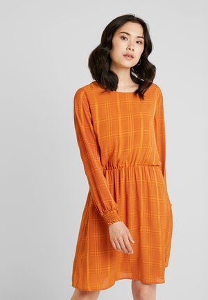 FRESQUARE DRESS - Day dress - autumnal