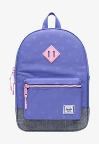 Herschel - School bag - dusted peri heat press polka/raven crosshatch - 0