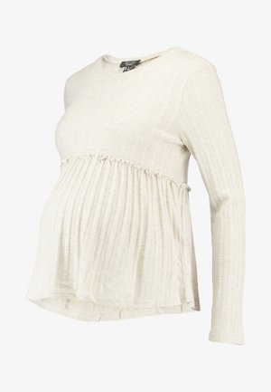 LOUNGE LETTUCE EDGE - Sweter - cream