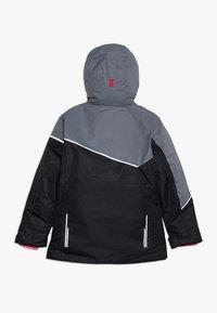 CMP - GIRL JACKET FIX HOOD - Ski jacket - nero - 1