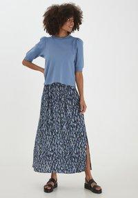 ICHI - Maxi skirt - total eclipse - 1