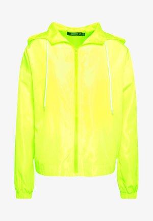 HOODED JACKET - Training jacket - green