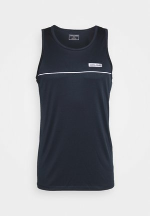JCOZPERFORMANCE TANK - Top - navy blazer