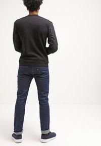 YOURTURN - Zip-up hoodie - black - 2