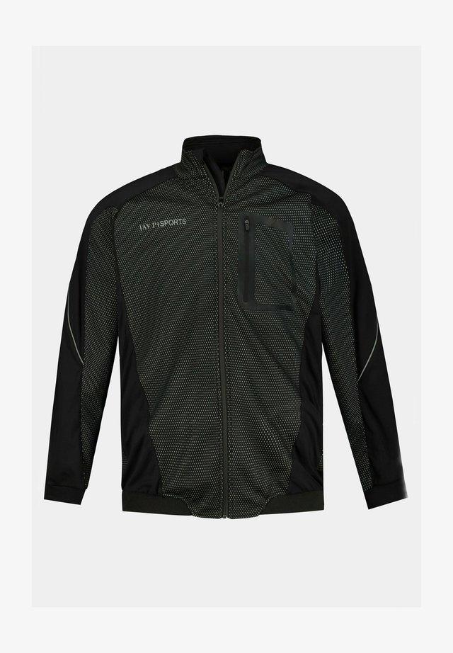 Veste de running - noir