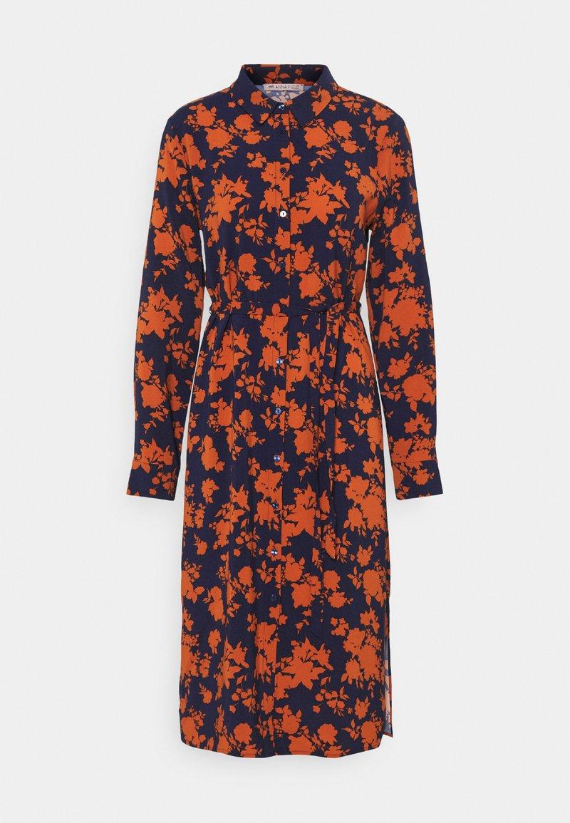 Anna Field - Day dress - dark blue/orange