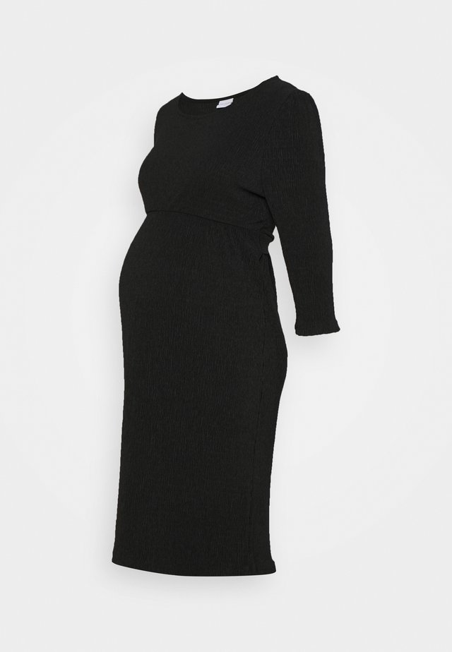 MLCAROLINE DRESS - Jerseykjole - black