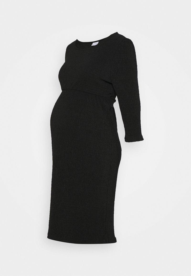 MAMALICIOUS - MLCAROLINE DRESS - Jersey dress - black