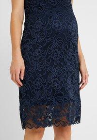 MAMALICIOUS - MLNEWMIVANA CAP DRESS - Jersey dress - navy blazer - 4