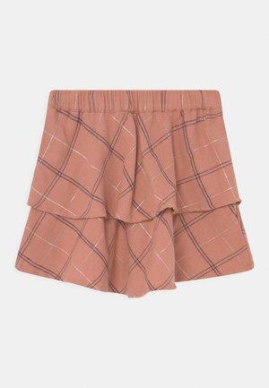 SMALL GIRLS - Mini skirt - ash rose