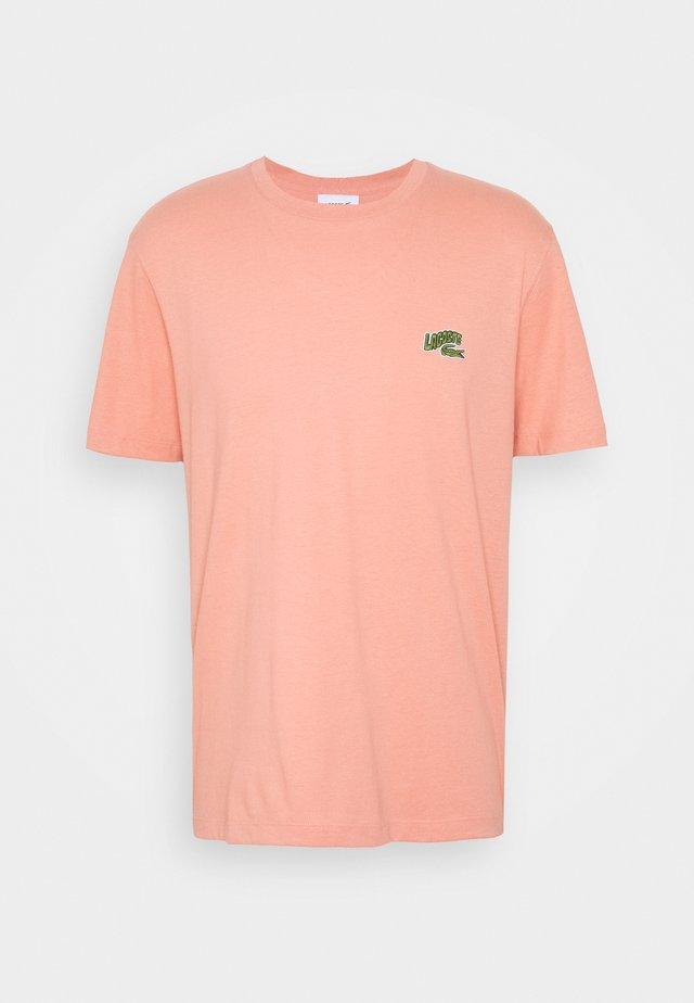 T-shirt basique - salmon