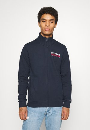 GRAPHIC ZIPTHRU - Zip-up hoodie - twilight navy