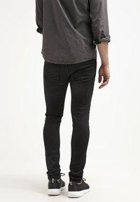 Pier One - Jean slim - black denim - 2