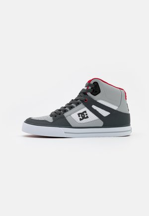PURE - Skateboardové boty - grey/red/white