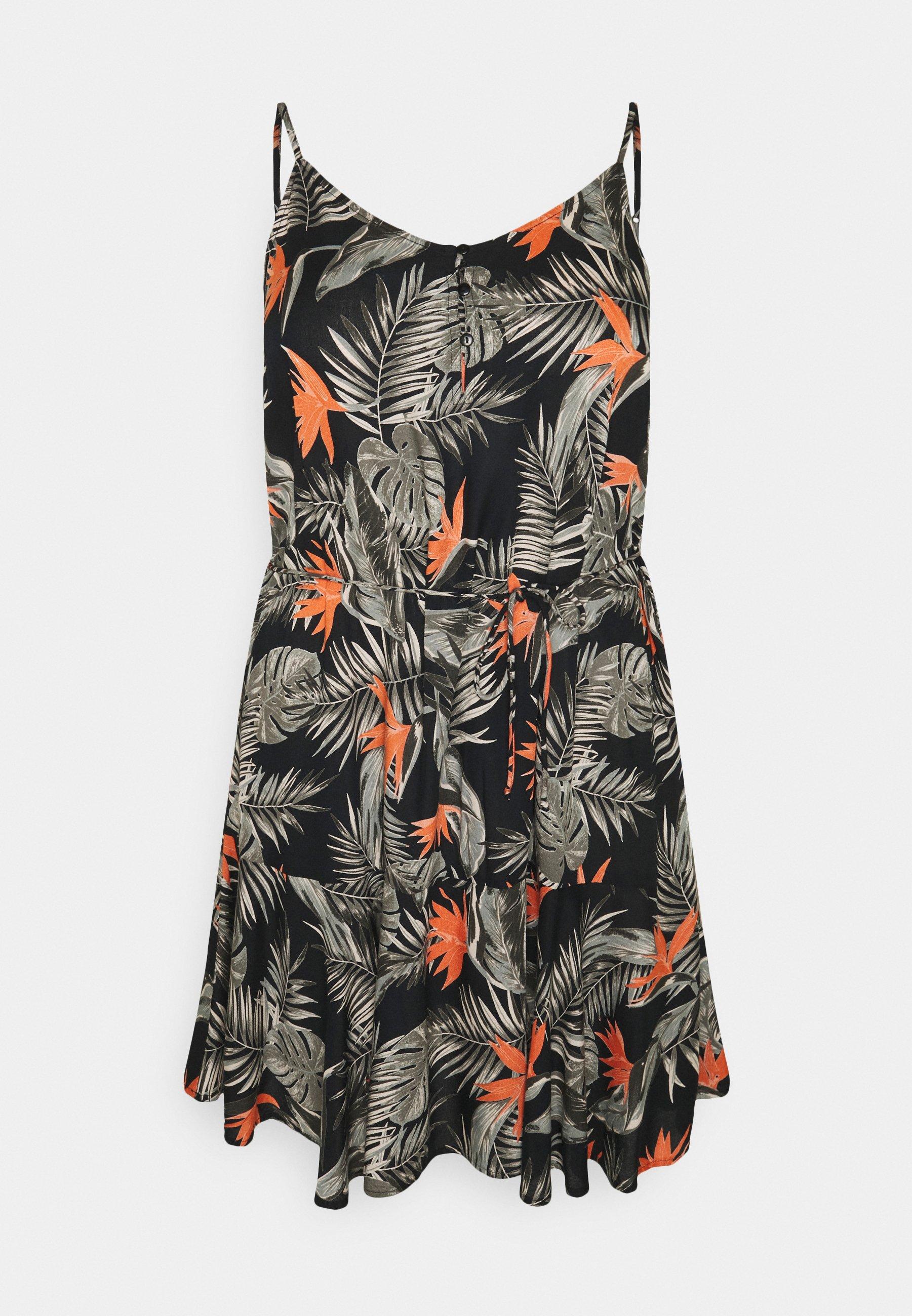 Women PCNYA SLIP BUTTON DRESS CURVE - Day dress