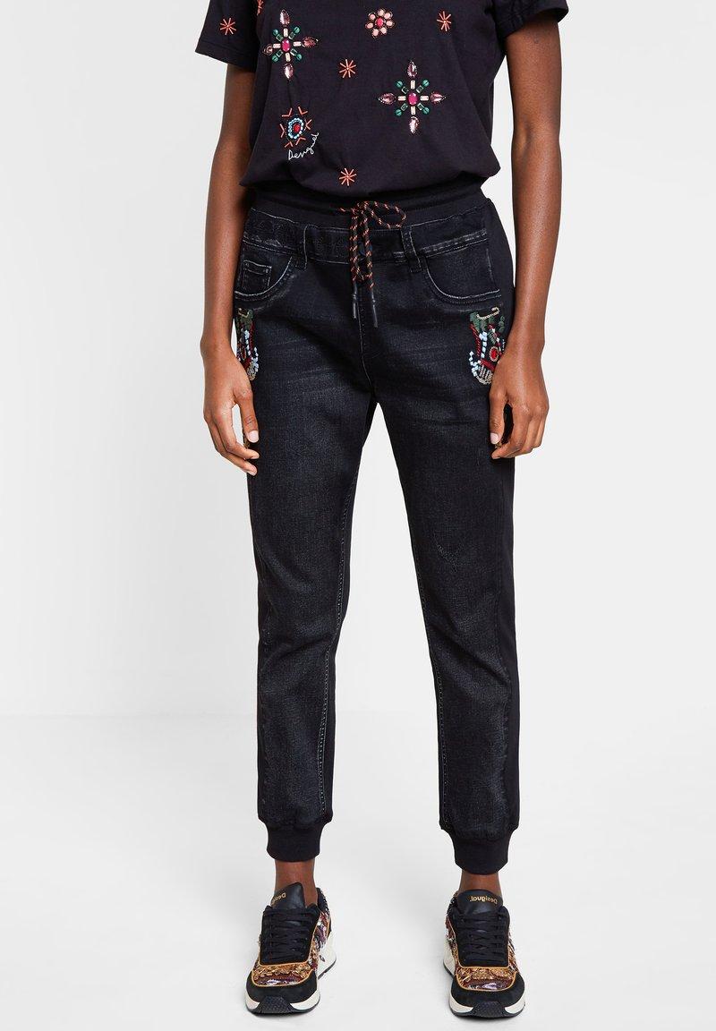 Desigual - DENIM_ISTAMBUL - Pantalon de survêtement - blue