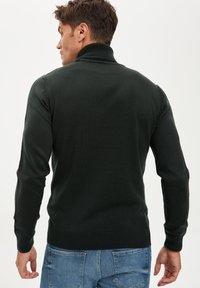 DeFacto - Stickad tröja - green - 2