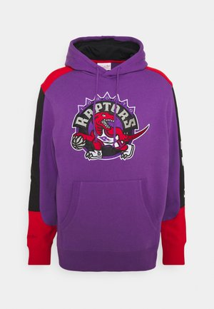 NBA TORONTO RAPTORS FUSION HOODY - Club wear - purple