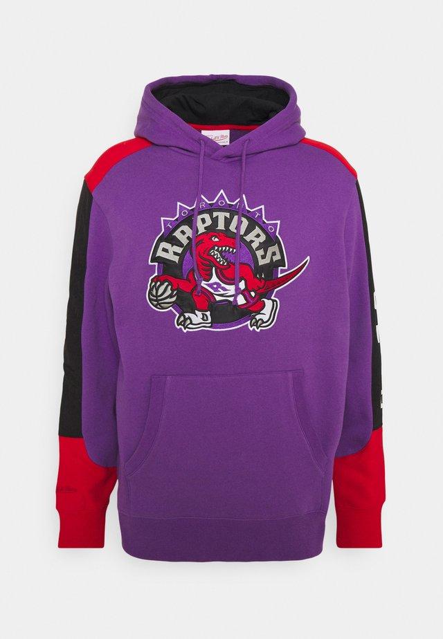 NBA TORONTO RAPTORS FUSION HOODY - Pelipaita - purple