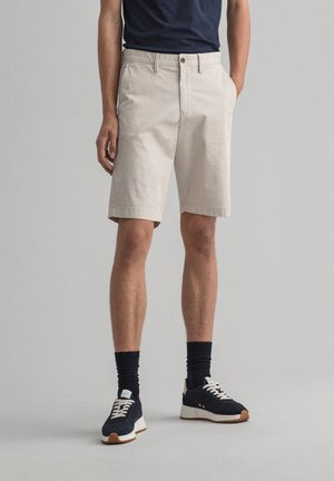 RELAXED FIT - Shorts - putty