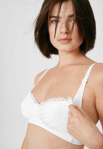 2 PACK - Underwired bra - white