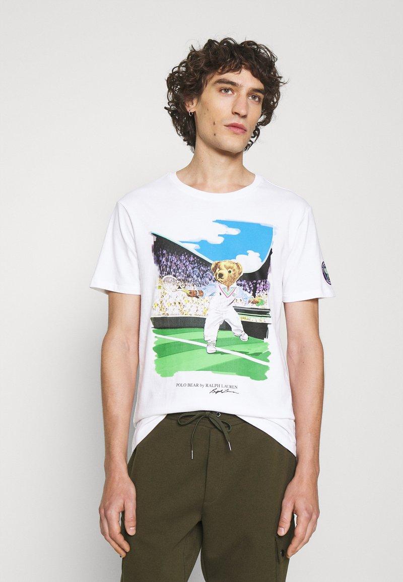 Polo Ralph Lauren - T-shirt imprimé - pure white
