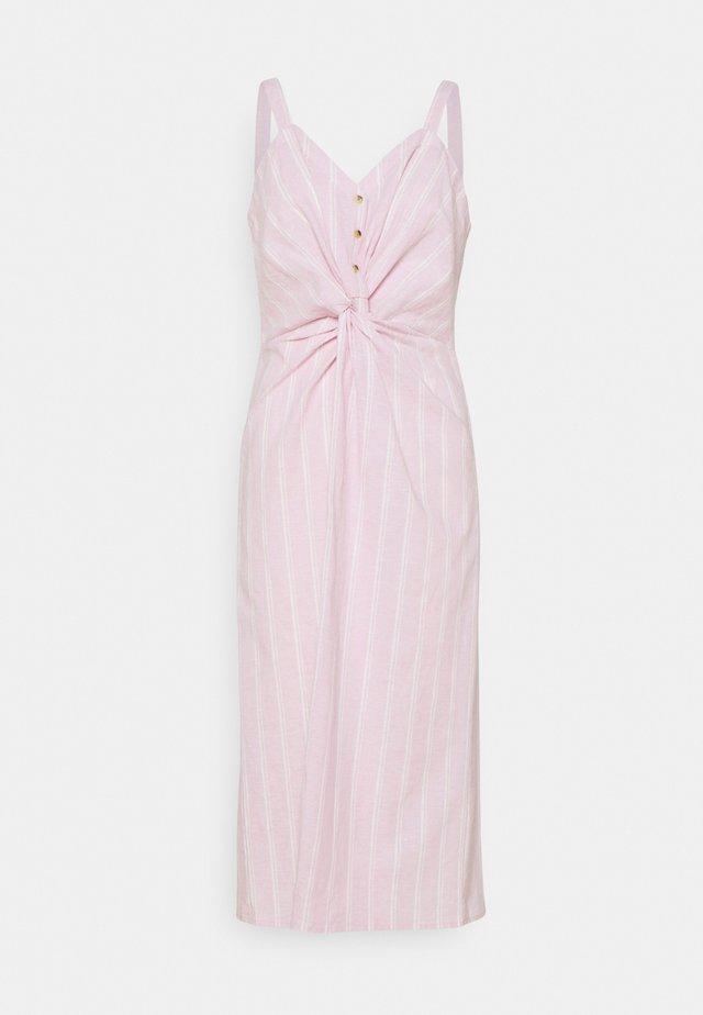 TULIA DRESS - Day dress - fragrant lilac, stripe