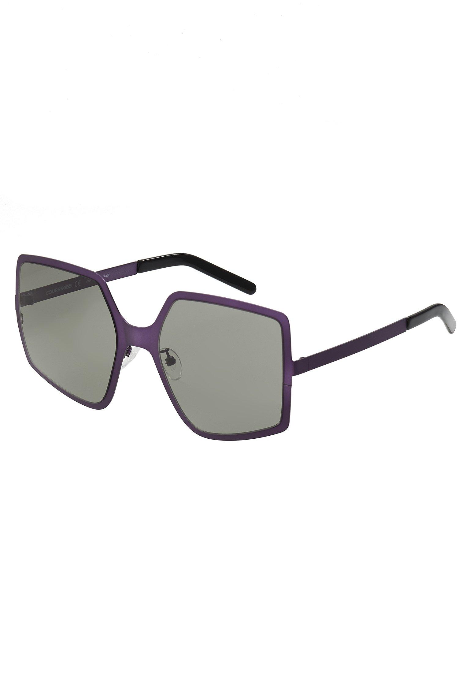 Courreges Lunettes de soleil - violet/grey