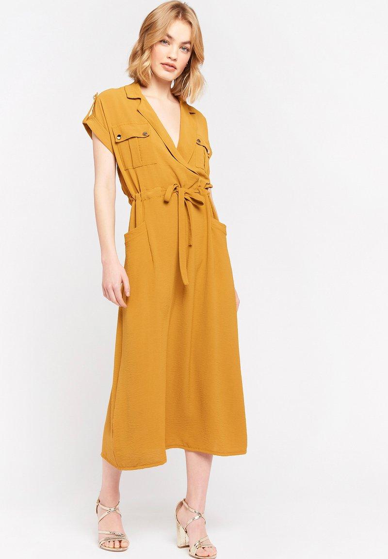 LolaLiza - Day dress - ocher