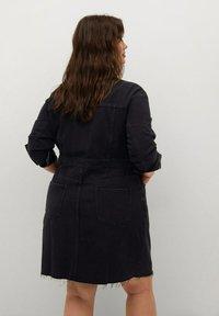 Violeta by Mango - BRITNEY - Denim dress - black denim - 2