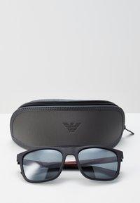 Emporio Armani - Sunglasses - black/light grey - 2