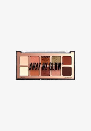 AWG SHADOW PALETTE - Eyeshadow palette - 2 hooked on glow