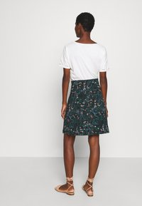 King Louie - BORDER SKIRT MONTEREY - Áčková sukně - black - 2