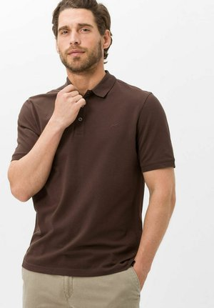 STYLE PETE - Polo shirt - espresso