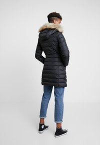 Tommy Jeans - ESSENTIAL HOODED COAT - Piumino - black - 2