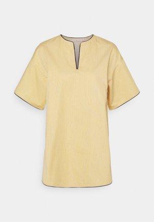 BUDDY STRIPE TUNIC - Blouse - yellow