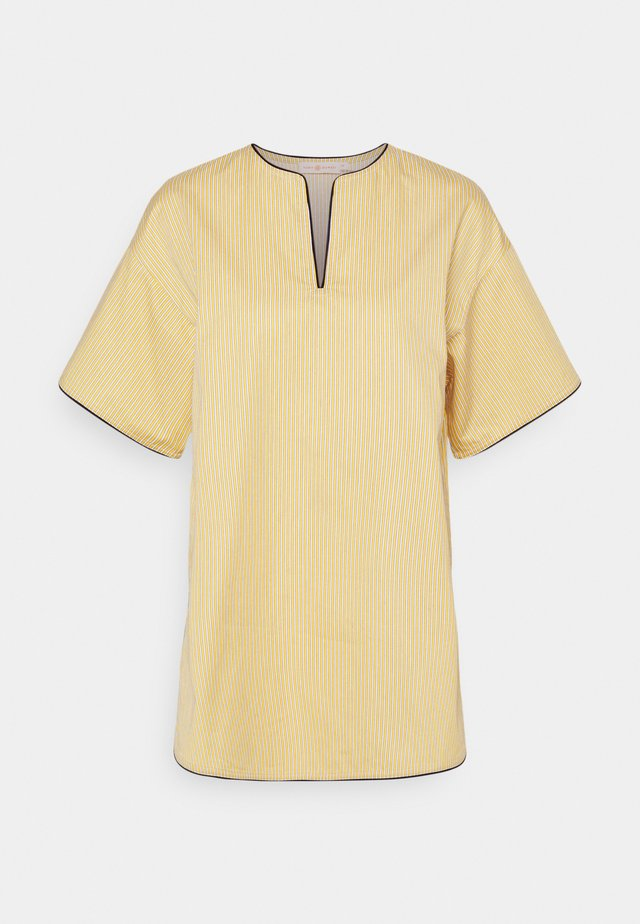 BUDDY STRIPE TUNIC - Blouse - yellow