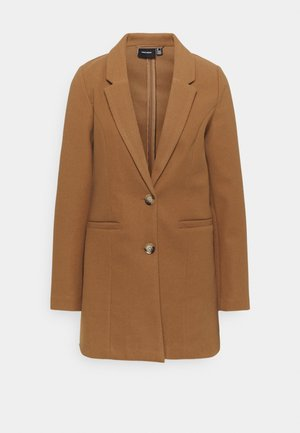 VMDAFNEJANEY - Classic coat - tobacco brown