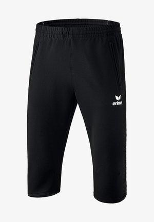 3/4 Sporthose - black