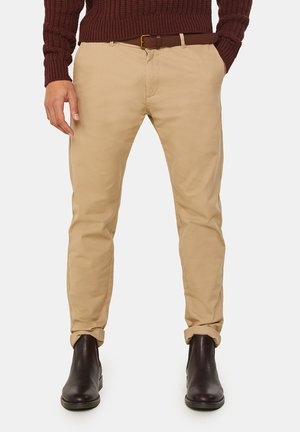 SKINNY FIT  - Chino - beige