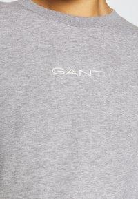 GANT - STRIPES C NECK - Sweatshirt - grey melange - 5