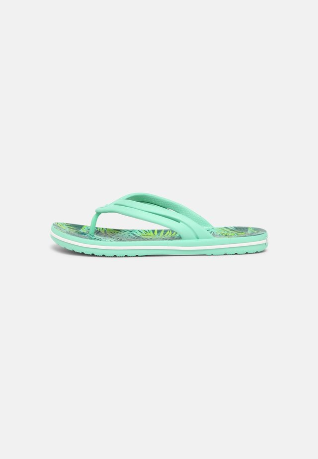 TROPICAL - Teenslippers - white/multi